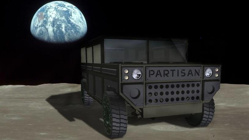 Русский инженер хочет отправить на Марс армейский внедорожник