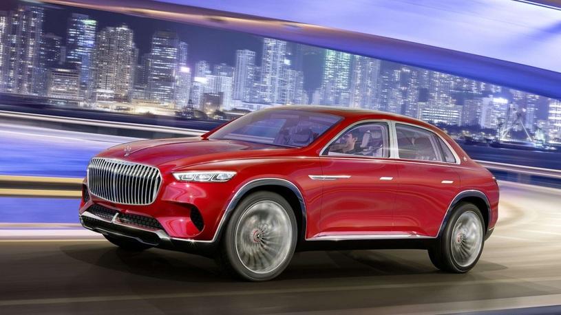 Концепт кроссовера Mercedes-Maybach GLS оказался не таким, как ожидалось