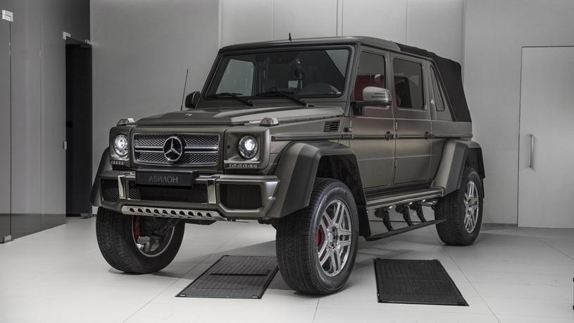 В Москве продают самый редкий и роскошный Mercedes G-Class (очень дорого!)