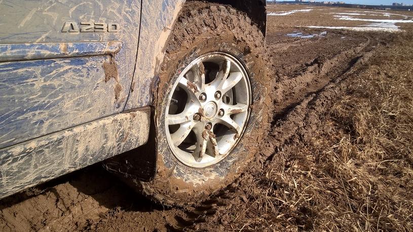Землеройки: длительный тест грязевых шин Hankook Dynapro MT. Часть 1