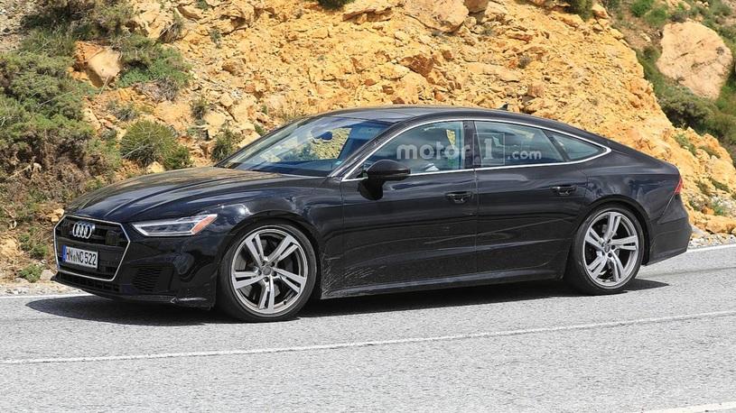 Облик Audi S7 более не является секретом