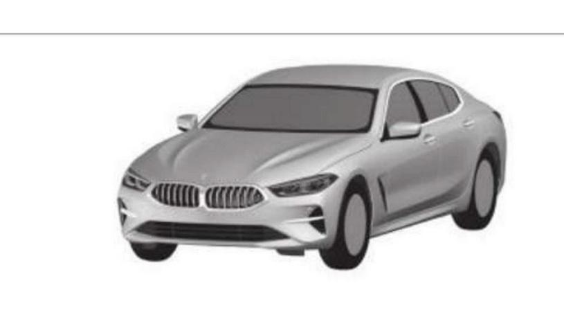 Рассекречена внешность нового четырехдверного купе BMW