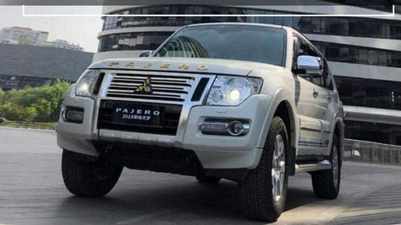 Долгожитель Mitsubishi Pajero пережил очередной рестайлинг