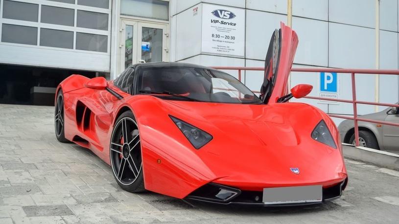 Самый известный спорткар Marussia продают за 10 млн рублей
