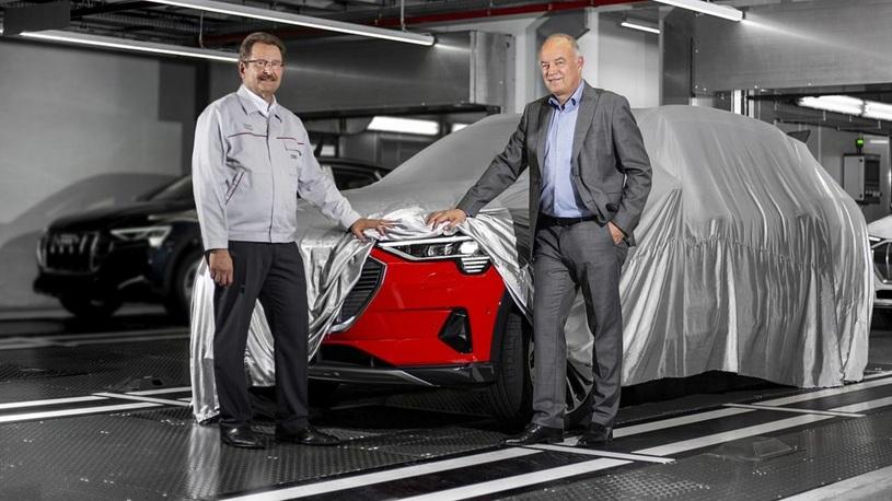 Стартовало производство первого электрокроссовера Audi