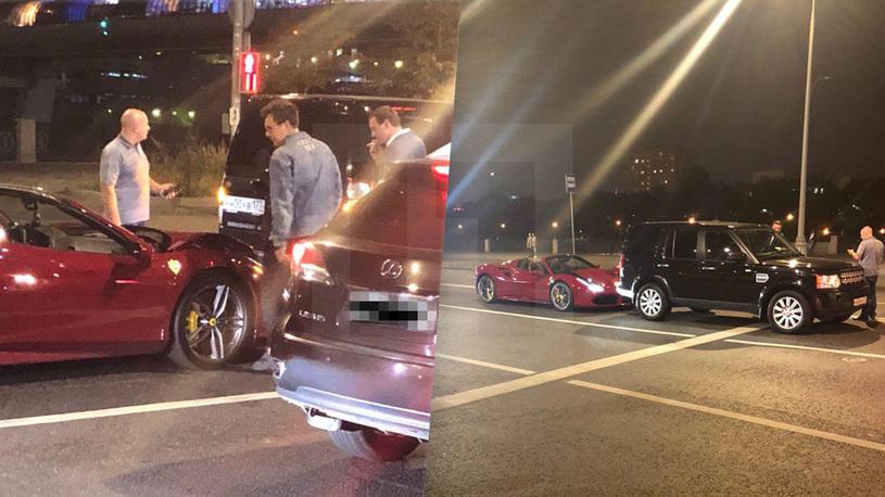 Популярный блогер разбил чужую Ferrari за 22 млн рублей