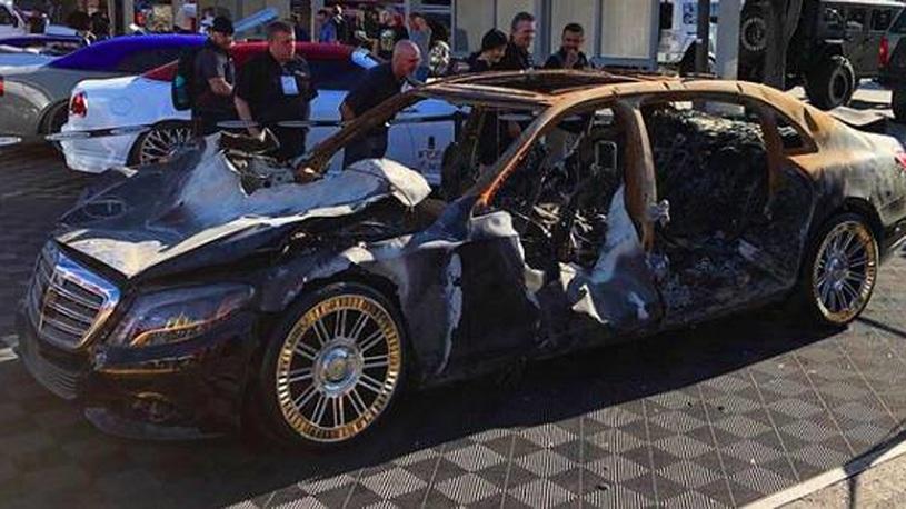 Производитель колес купил сгоревший