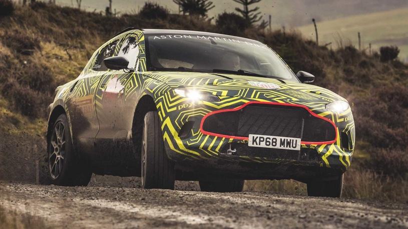 Вот как будет выглядеть первый супер-кроссовер Aston Martin