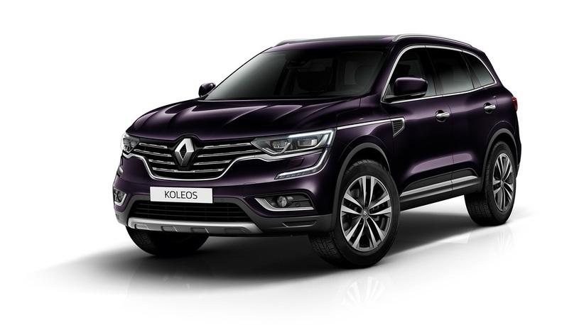 В России появилась доступная версия кроссовера Renault Koleos