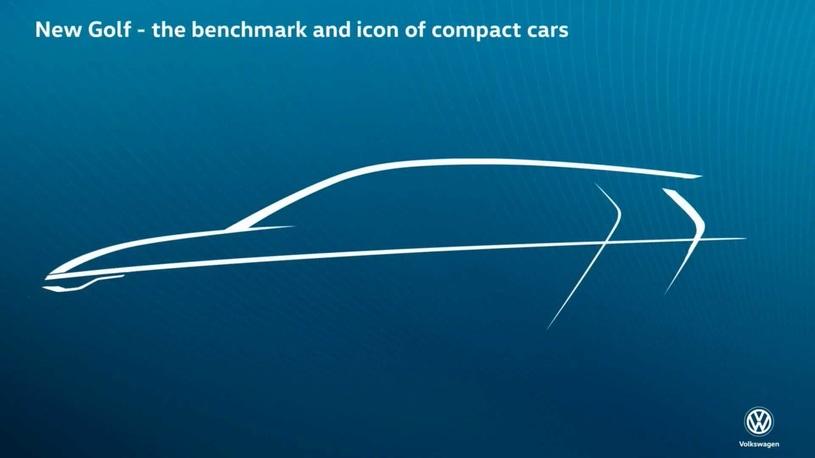 Новый Volkswagen Golf: первое изображение