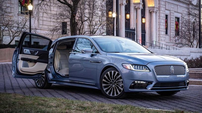 На Lincoln Continental поставили
