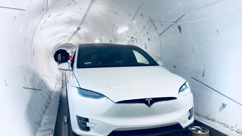 Заработал первый скоростной тоннель Илона Маска