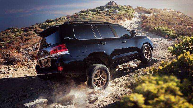 Land Cruiser нового поколения: Toyota призывает оставить барсука в покое