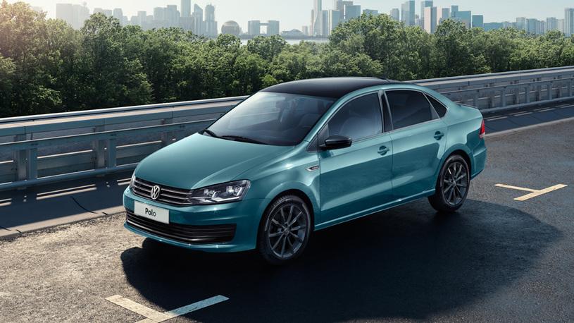 Седан Volkswagen Polo получил