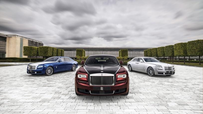 Rolls-Royce попрощается с Ghost полусотней уникальных седанов