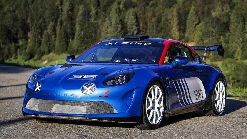 Возрожденная легенда  – Alpine A110 – выходит на тропу