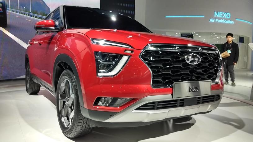 В Китае показали новый Hyundai Creta, который приедет и в Россию