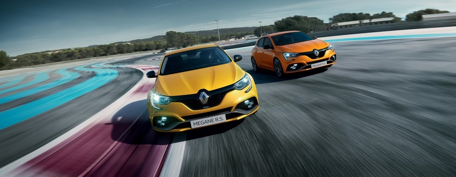 Новый Renault Megane RS Trophy