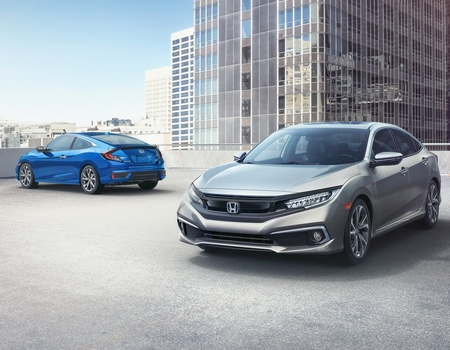 Honda обновила Civic