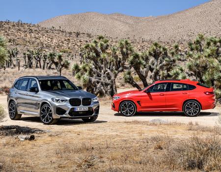 Рублевые цены BMW X3 M и X4 M
