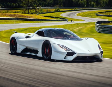 Самые мощные автомобили в мире
