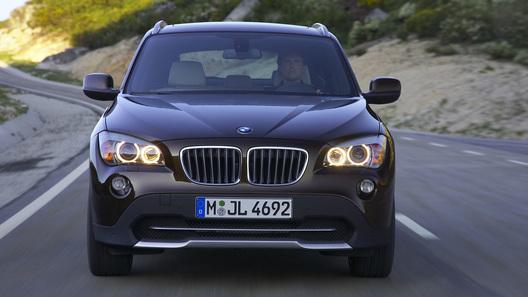 Официальные фотографии BMW X1