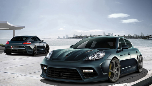 MANSORY подготовило свою версию Porsche Panamera