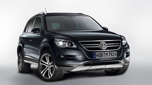 Volkswagen Tiguan Track & Avenue: налет роскоши и авантюризма