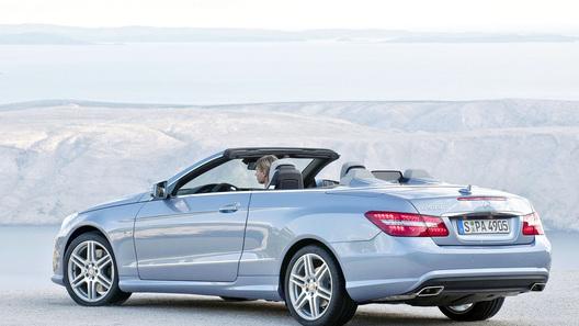 Новый кабриолет Mercedes-Benz E-Class: освежающие инновации