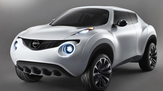 Концептуальный кроссовер Nissan Qazana