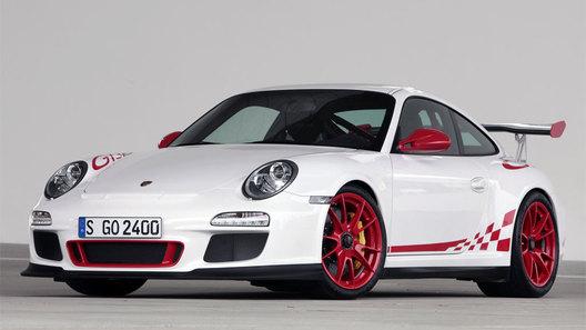 Пилот Porsche на гонке