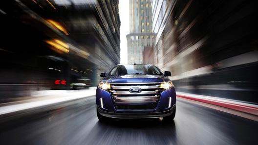 Американский внедорожник Ford Edge претерпел рестайлинг