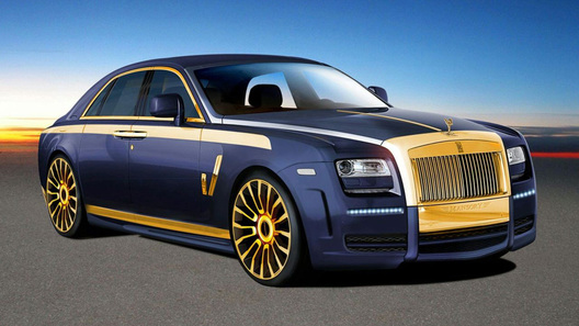 Rolls-Royce Ghost от Mansory: первые фото
