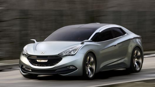 Концепт Hyundai i-Flow: космолет от корейского производителя