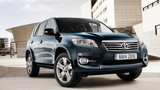 Новая Toyota RAV4 2010: дежурное обновление