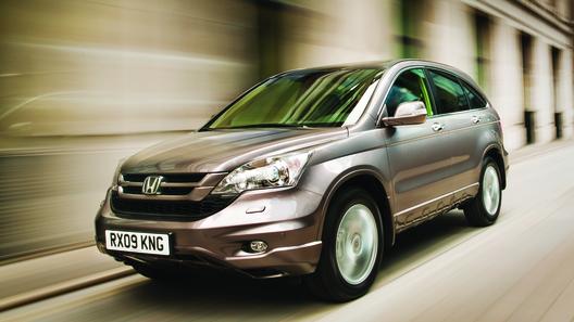 В России начинаются продажи обновленной Honda CR-V