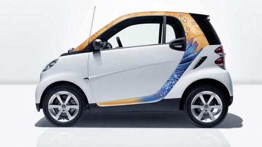Smart выпускает комплект стильных аксессуаров для модели Fortwo