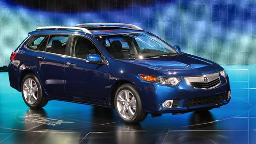 Автосалон в Нью-Йорке: премьера Acura TSX Sport Wagon