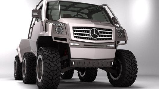 Дизайнерский проект Hexawheel исправляет упущения Mercedes-Benz