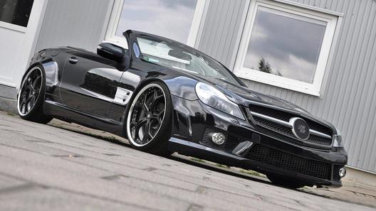 Немецкие тюнеры доработали новый Mercedes SL-Class R230