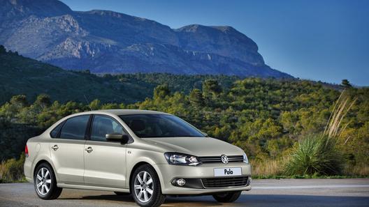 Бюджетный седан Volkswagen Polo будет стоить 399 000 рублей