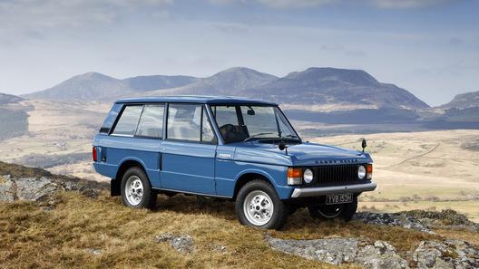 Британскому внедорожнику Range Rover исполняется 40 лет