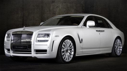Rolls Royce Ghost White: новый проект ателье Mansory