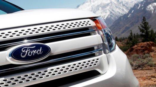 Ford опубликовал новую фотографию обновленной модели Explorer