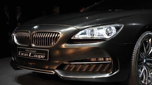 Прототип BMW Gran Coupe Concept будет запущен в серию