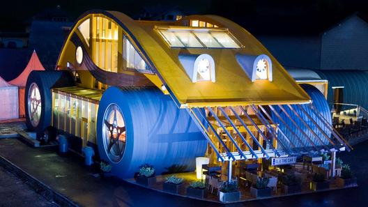 Новый Volkswagen Beetle: дом и ресторан