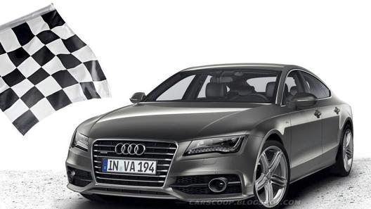 Опубликованы первые фотографии Audi A7 Sportback S-Line