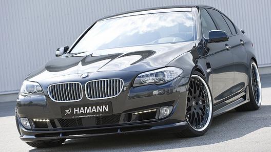 Ателье Hamann Motorsport презентует набор улучшений для седана BMW 5-Series F10