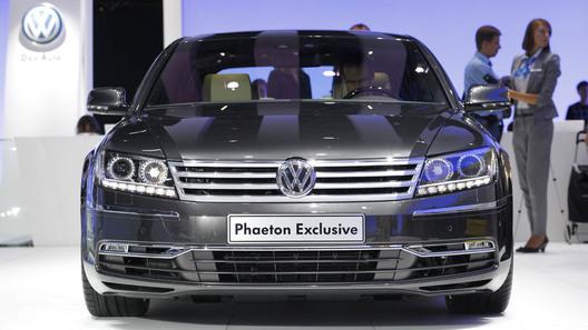 На московском автосалоне состоялась европейская премьера Volkswagen Phaeton
