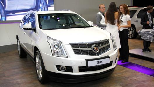 Cadillac представил новое поколение кроссовера SRX и CTS Coupe